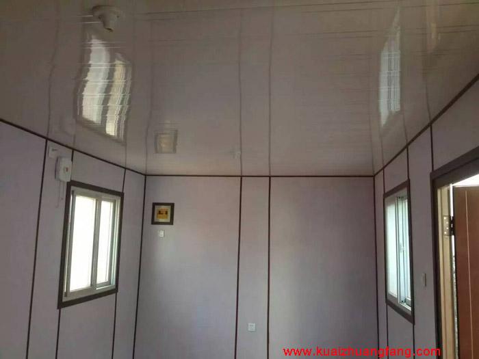 彩钢快装房室内办公装修效果图